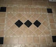 Entryway Tile Design Rug