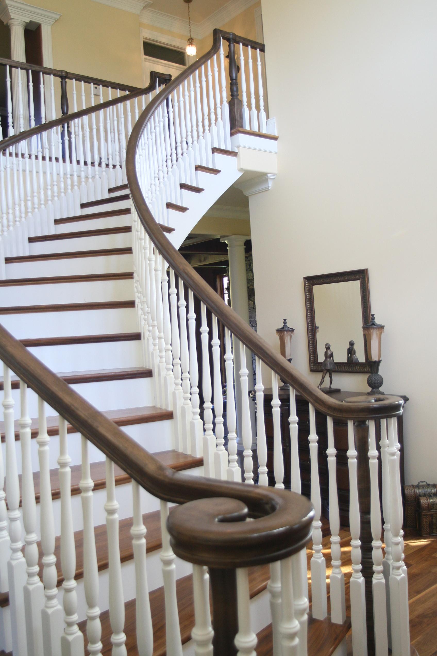 Hardwood Stairs Design Muller