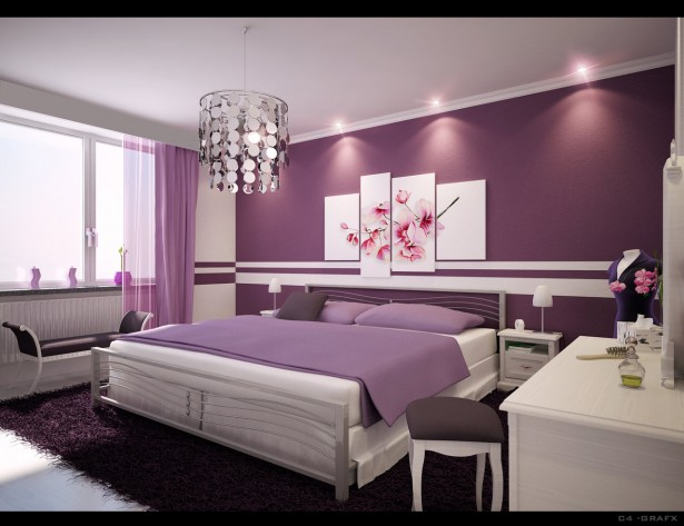 Interior Design of Bedroom Colors