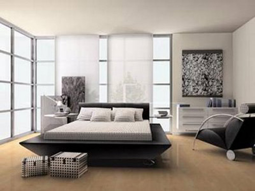 Interior Design of Bedroom Decorating