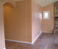 Painting Walls Finished