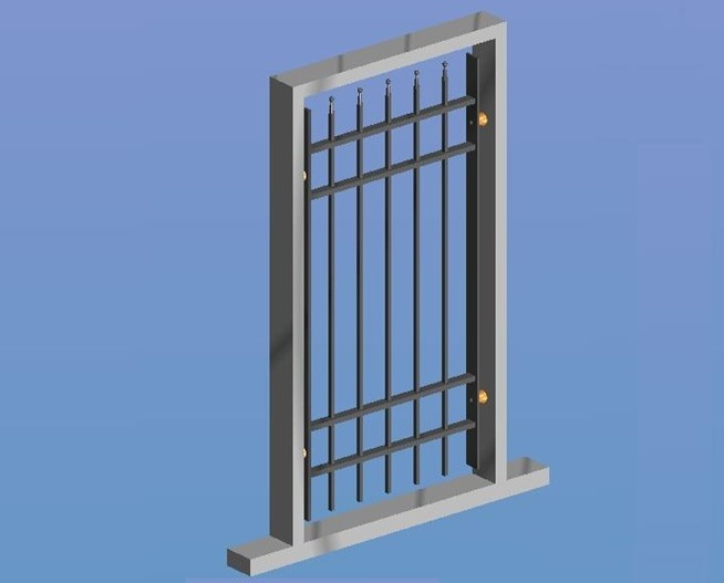 Security Window Grill Protection
