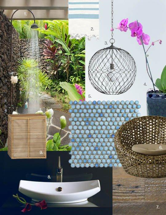 Hawaiian Bathroom Decorating Ideas