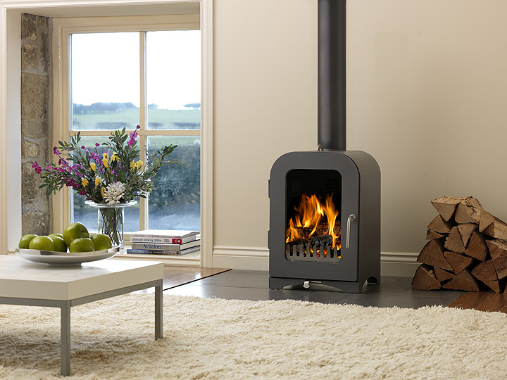 Modern Wood-Burning Fireplaces