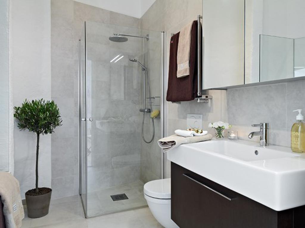 apartment bathroom decor