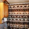 cabin bathroom shower curtain