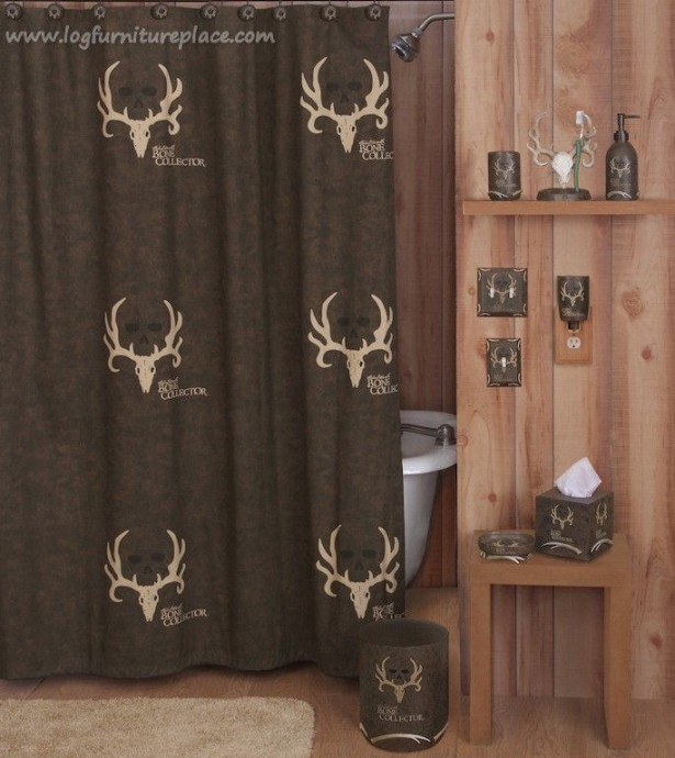 hunting bathroom decor