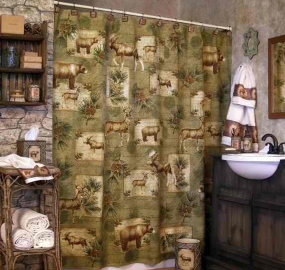 moose bear bath accessories