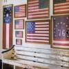 patriotic bathroom decor