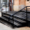 stainless steel stair treads and risers