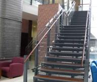 stair bar grating treads steel aluminum