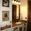 western bathroom interior