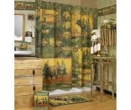 wilderness bear bathroom decor