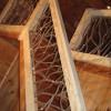 yellow pine handrails