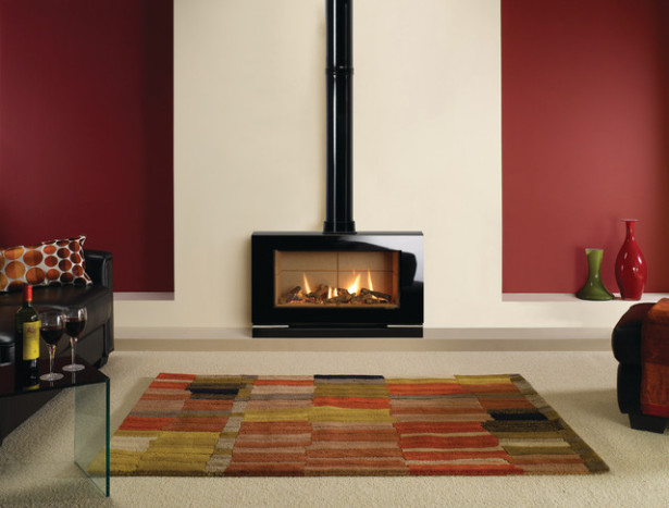 Modern Gas Stoves and Fireplaces