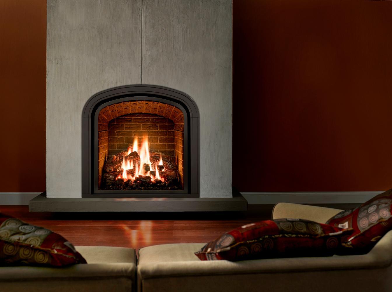 build brick fire place designs
