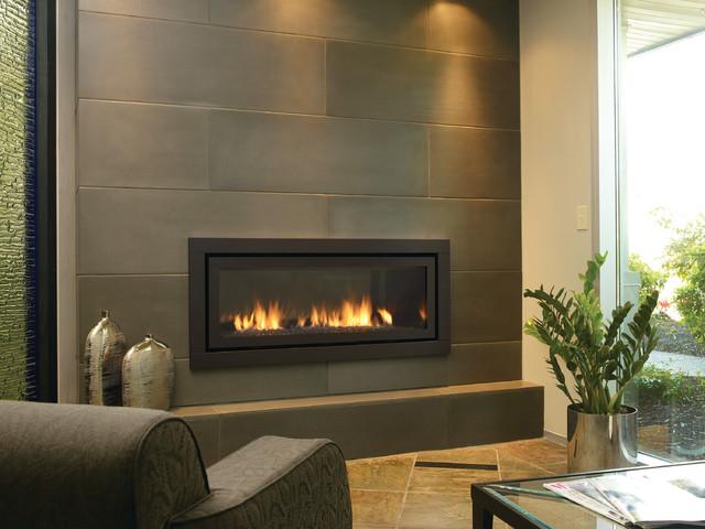 contemporary fireplace inserts