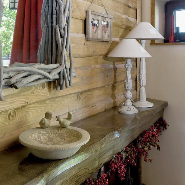 country decor bathroom
