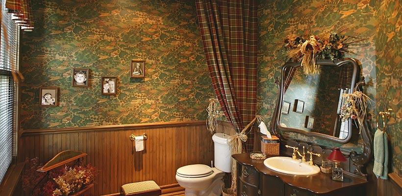 country style bathroom decor