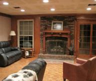 fireplace brick makeover