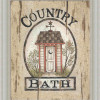 southern country bathroom decor