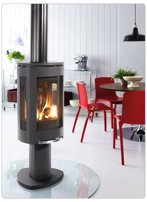 Direct Vent Freestanding Gas Fireplace
