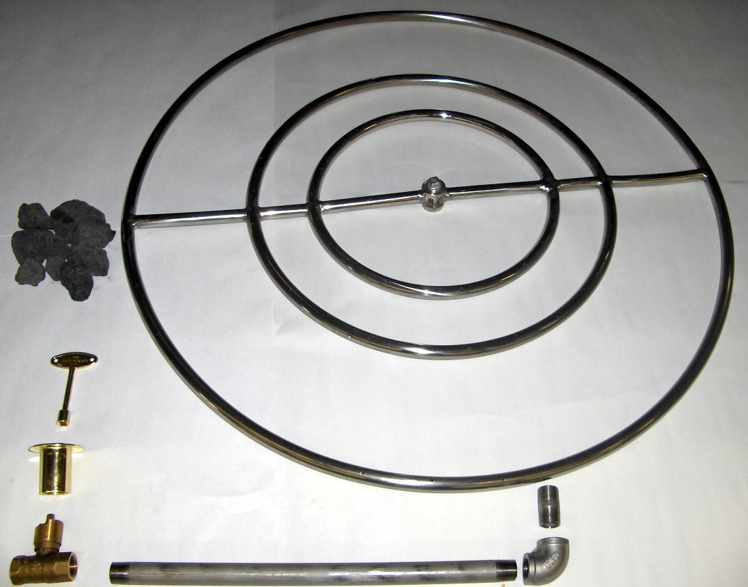 Fireplace Gas Starter Burner Kit
