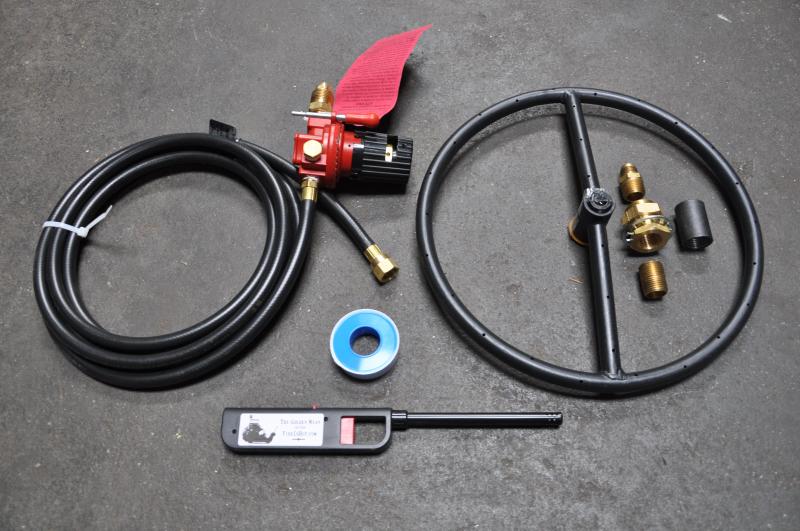 Gas Fireplace Installation Kit