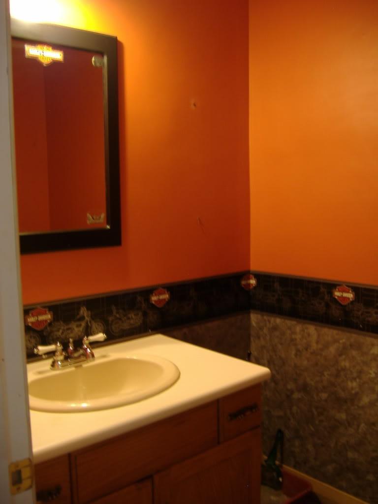 Harley-Davidson Bathroom Ideas