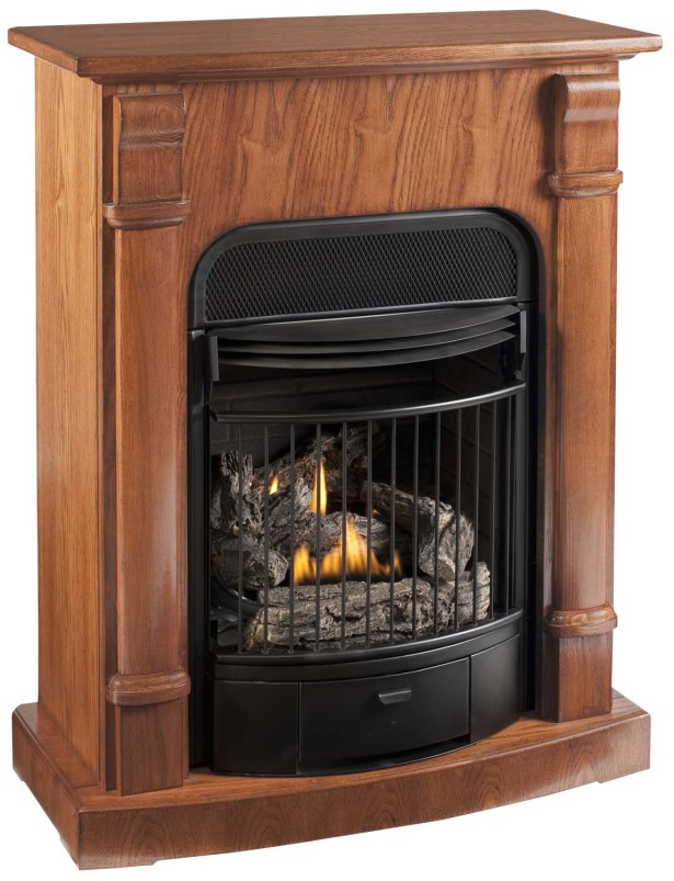 Natural Gas Fireplace Freestanding