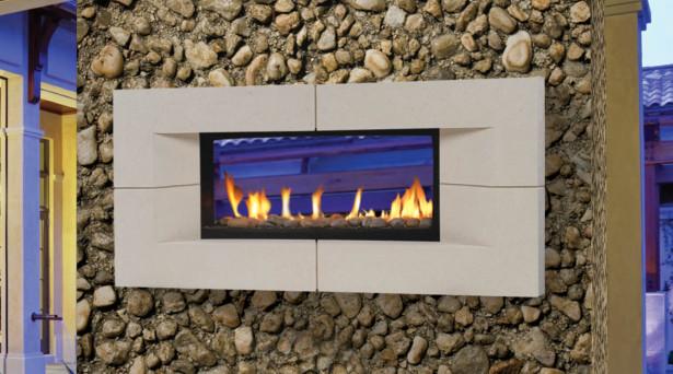 Natural Gas Fireplace Kit