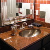 Pictures of Harley-Davidson Bathrooms