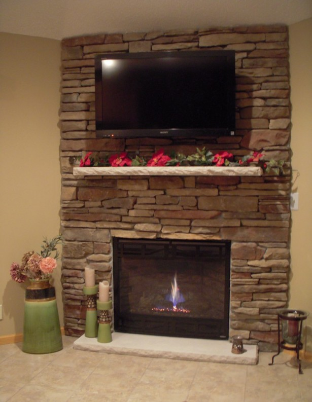Stone Fireplace Ideas for Cabins
