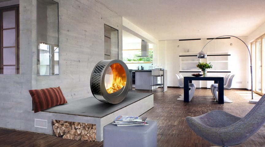 Ventless Gas Freestanding Fireplaces